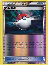 "Carte Pokemon "" DRESSEUR "" Série Noir & Blanc Poké Ball 97/114 UNCO HOLO VF"