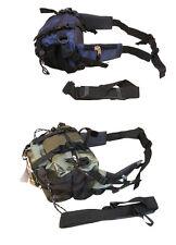 Voyage ceinture argent sacoche jour sac à dos épaule vert, bleu, gris, noir