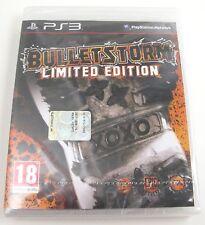 GIOCO PLAYSTATION 3 PS3 BULLETSTORM LIMITED EDITION PAL ITA - NUOVO