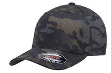 Official Flexfit Crye Multicam Black Cap - Military Baseball Cap - All Sizes