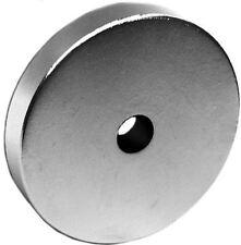 1 Neodymium Magnets 1.5 x 1/4 x 1/4 inch Ring N48