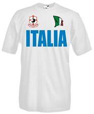 T-Shirt girocollo manica corta Supporters T33 Tifosi Italia calcio football fans