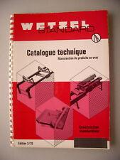 Wetzel Standard Elemente Fördertechnik Schüttgut 3/70