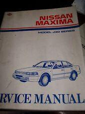 Nissan MAXIMA J30 1988.... : SERVICE MANUAL