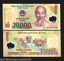 VIETNAM 10000 DONG P119 2009 BUNDLE HCM OIL RIG POLYMER UNC CURRENCY LOT 100 PCS