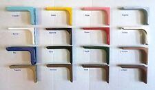 Coppia Reggimensola Reggi Mensola Casa Cameretta Cucina  Vari Colori cm 12 18 24
