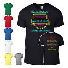 Abschluß Shirt Abschlussshirt T-Shirt Abi Schule mit allen Namen Penne UNI 001