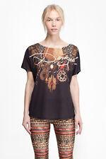 Desigual Sport-collection shirt * TS _ L T-S oversize G * Monténégro automne/hiver
