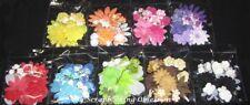 FLOWERS Mix Packs (You choose colour) Card Making/SCrapbooking GREEN TARA