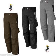 Arbeitshose Arbeitskleidung Berufskleidung 2-farbig Qualitex pro 245 Übergröße