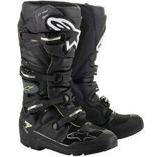 Alpinestars Tech 7 Drystar Waterproof Motocross MX Enduro Boots Black Adults