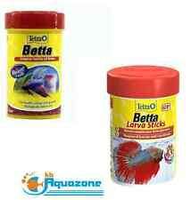 TETRA BETTA FOOD *27g (100ml)  FLAKES or Tetra Betta Larvae Stick 5g or 30g*