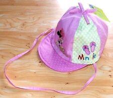 CHAPEAU casquette ETE BEBE fille 46 ou 48 ou 50 MINNIE MINIE DISNEY NEUF