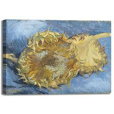 Van Gogh due girasoli design quadro stampa tela dipinto telaio arredo casa