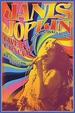 JANIS JOPLIN - LIVE IN CONCERT POSTER - 24x36 CLASSIC ROCK 241346