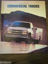 MINT1995 CHEVROLET CHEVY COMMERCIAL TRUCKS  45 PAGE DEALER SALES BROCHURE BOX769
