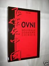 """""""O.V.N.I. NOUVEAUX DOSSIERS CHINOIS"""" SHI BO (1999) UFOLOGIE / E.T. /"""