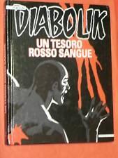DIABOLIK IL GRANDE N° 1 VOLUME CARTONATO- EDIZIONI IF -UN TESORO ROSSO SANGUE