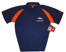 Denver Broncos NFL Mens Athletic Performance Polo Shirt Big & Tall Sizes NWT