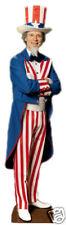 SC-379 U.S.A. Uncle Sam Pappaufsteller aus Amerika Lebensgroß Aufsteller Figur