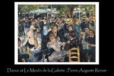 Dance at Le Moulin de la Galette Renoir art print