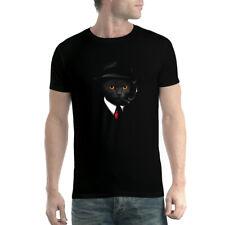Agente de Gato Mafia Camiseta Para Hombres XS-5XL Nuevo