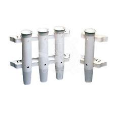 Rutenhalter Angelruten-Ständer-Halter Kunststoff Angelrutenhalter zur Wandmontag