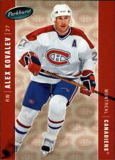 2005-06 Parkhurst Hockey Cards 251-500 Pick From List
