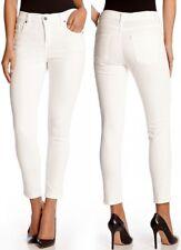 Karen Kane L82099 Cream Zuma Twill Stretch Crop Skinny Jeans - $109