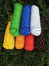 Rope, Seil 4-16 mm,30m,Festmacher,Bootstau,Segeltau,Tauwerk,Tau,Band,Ersatzseil