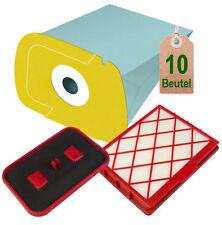 Set Staubsaugerbeutel Container und Filter passend für Lux 1 D 820 Staubsauger