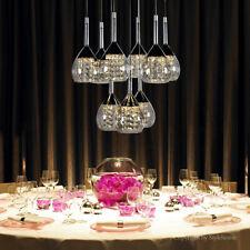 Stylehome LED Cristal Lámpara Colgante de techo 4822