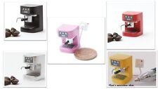 1:12 dolls house miniature modern kitchen espresso machine 5 to choose from.