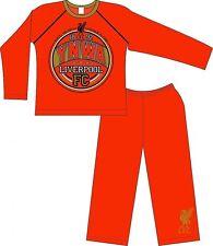 Boys Red Liverpool FC Pyjamas Official, Boys Pjs, Kids Nightwear, Football