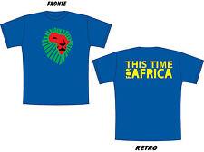 T-SHIRT MAGLIETTA S - M - L - XL mondiali 2010 WAKA WAKA this time for Africa