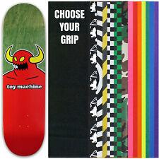 "TOY MACHINE Pro Skateboard Deck MONSTER XL (assorted veneers) 8.5"" with GRIPTAPE"