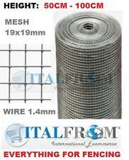 grillage volière ou grillage 25mt MESH 19x19mm