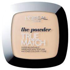 L'Oreal True Match Super-Blendable Powder Rose Vanilla ,Rose Ivory, Golden Ivory