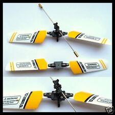 Rotorkopfset für USB Metal Mini RC Helis zB 333-648gelb