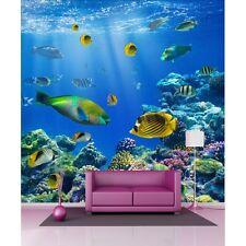 Stickers géant déco : Poissons Aquarium 1214