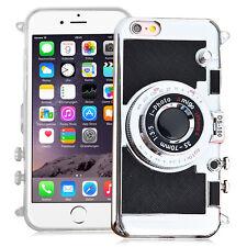 TPU Silikon Schutzhülle mit Kamera Video und Spiegel Design Apple iPhone 6/ 6s