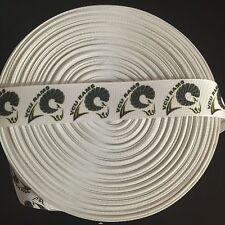 "7/8"" VCU Rams Virginia Commonwealth Grosgrain Ribbon by the Yard (USA SELLER!)"