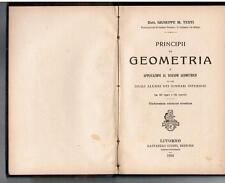 Testi, PRINCIPII DI GEOMETRIA, Giusti Editore 1922