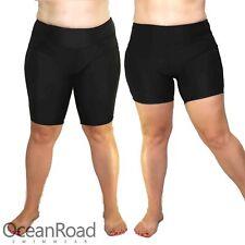Plus Size Boyleg, Knee Length Swim Leggings for Women Swimshorts Bottoms Trunks