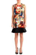 Just Cavalli Multi-Color Sleeveless Women's Sheath Dress Sz XS S M L XL