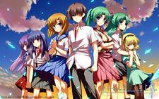153603 Higurashi no Naku Koro ni Anime Art Wall Print Poster Affiche