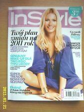 GWYNETH PALTROW on cover In Style 2/2011 Polish mag.