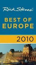 Rick Steves' Best of Europe 2010-ExLibrary