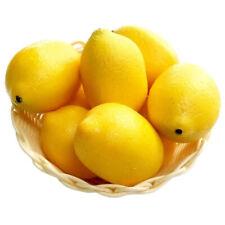 10pcs Faux Limes Lemons Decorative Foam Artificial Simulation Fruit Home Decor