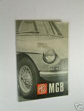 MGB & GT HANDBOOK, GHN/D4 1968-71 US EDITION (AKD7059B)